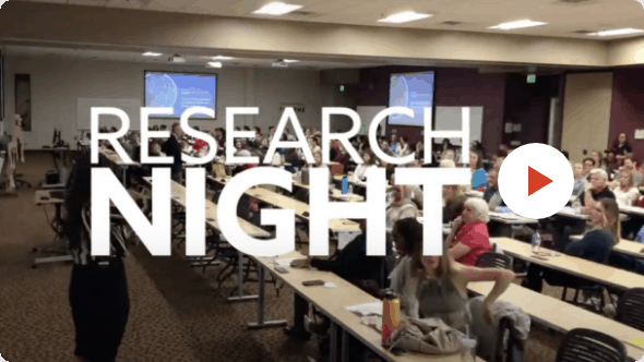 SCNM | Video of Research Night