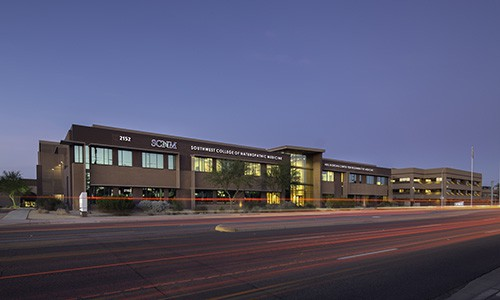 SCNM | Outside view of building