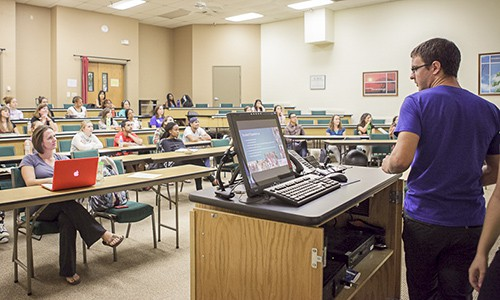 SCNM | Classroom with Students